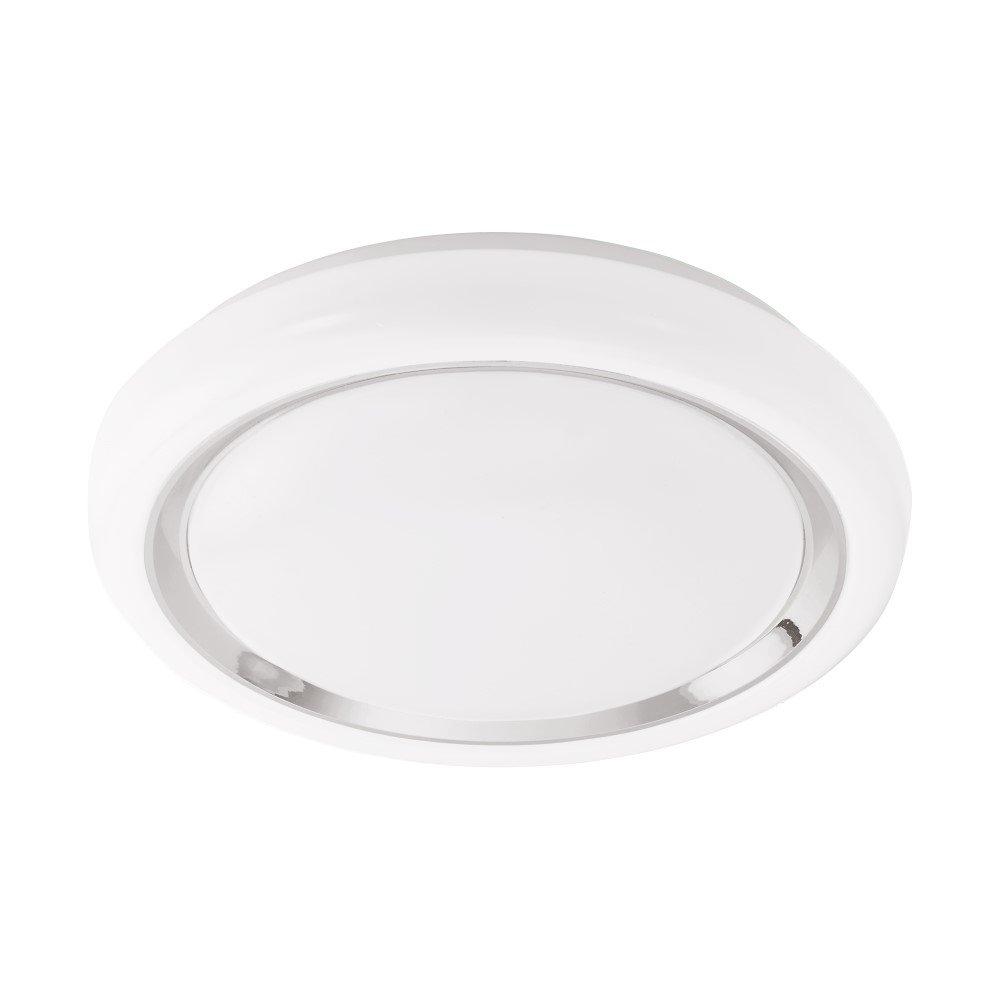 Eglo CAPASSO-C Chroom, Wit plafondverlichting