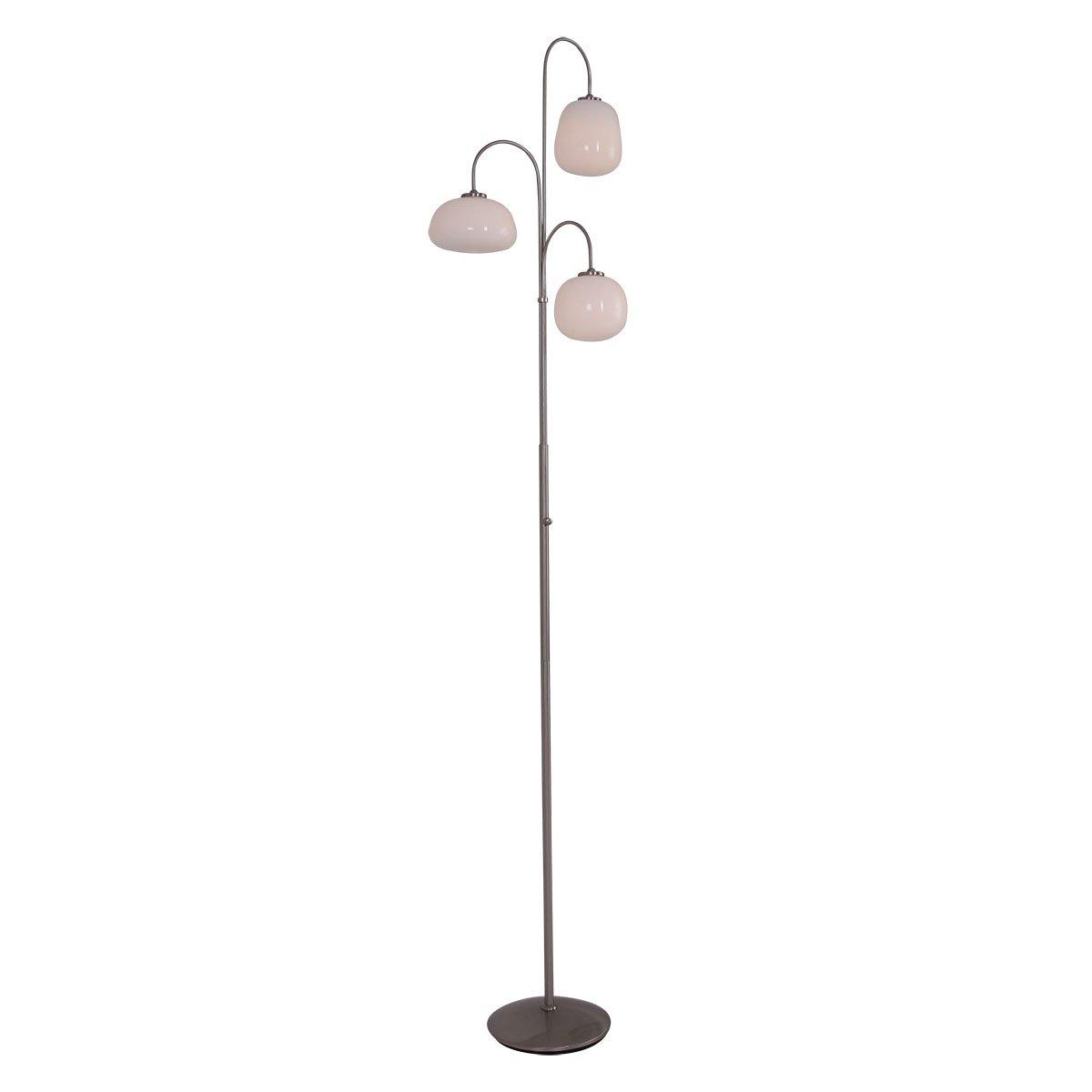 Steinhauer Design vloerlamp Bollique met led Steinhauer 1446ST