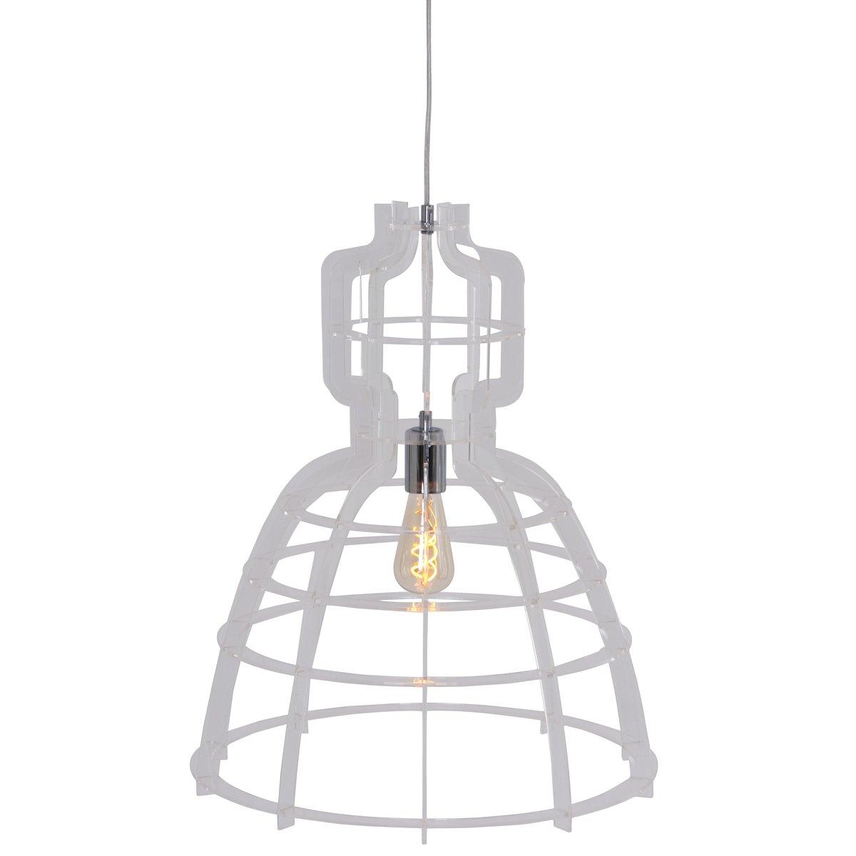 Steinhauer Transparante hanglamp Mark III Steinhauer 1485CH