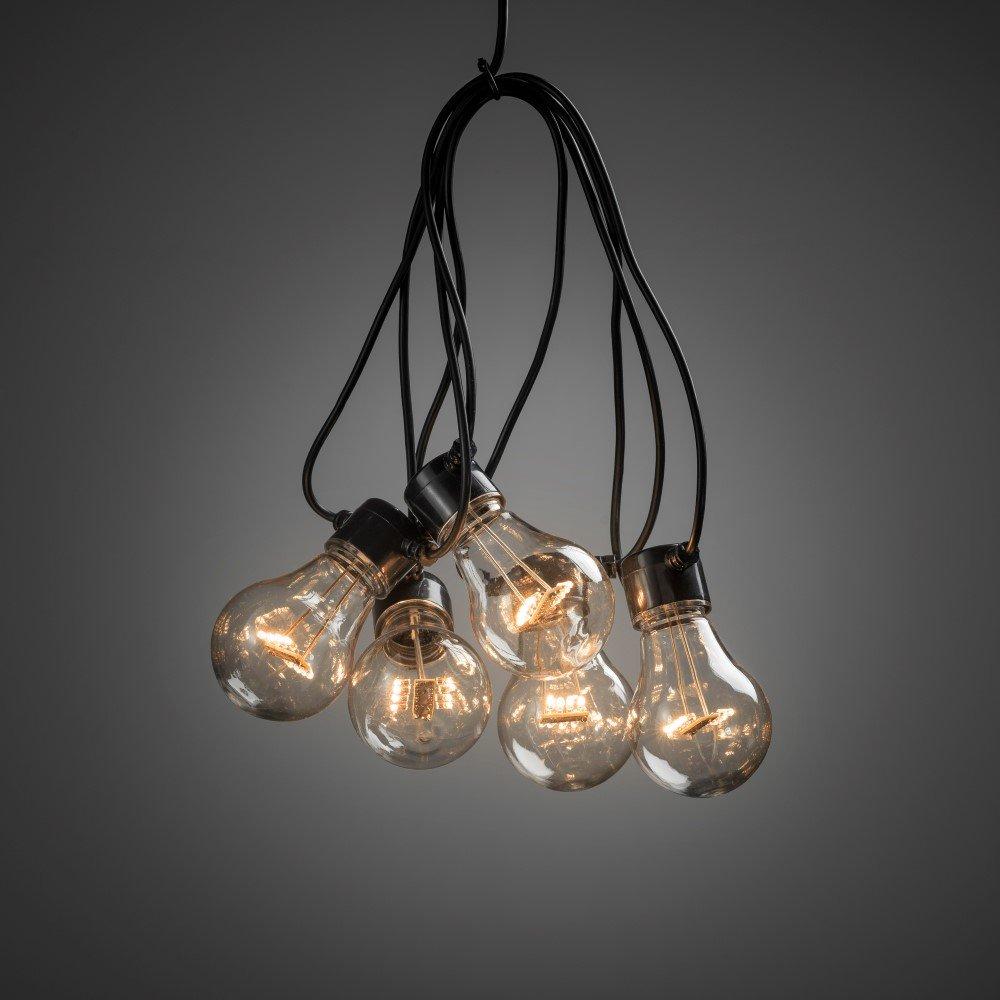 KonstSmide Partylight lichtsnoer met 10 lampen Konstsmide 2396-800