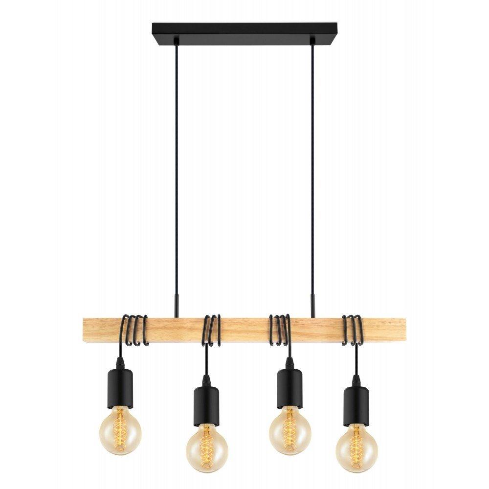 Eglo Townshend Hanglamp 70 cm Zwart