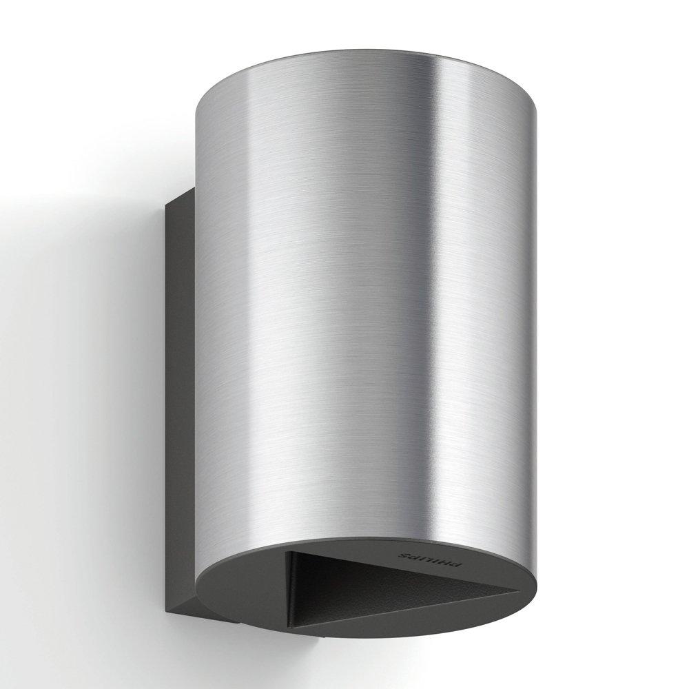 Buxus Led-buitenwandlamp van roestvrij staal