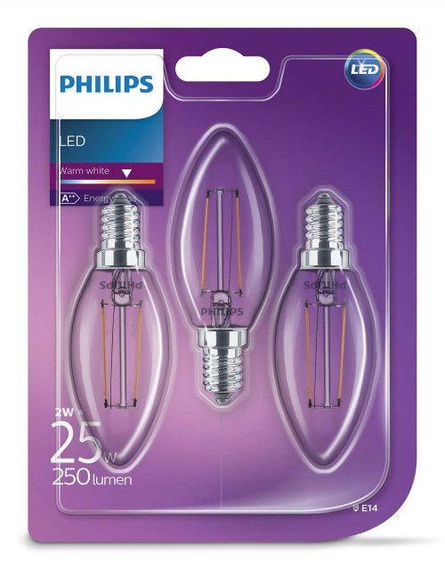 2W - E14 - B35 - Led - Philips 929001238373 - € 14,95