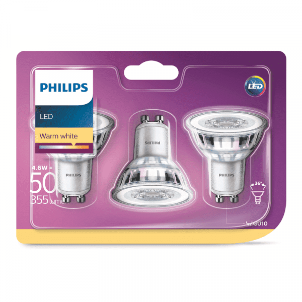 Phi Led Ww 230v 36 Nd 50w Gu10