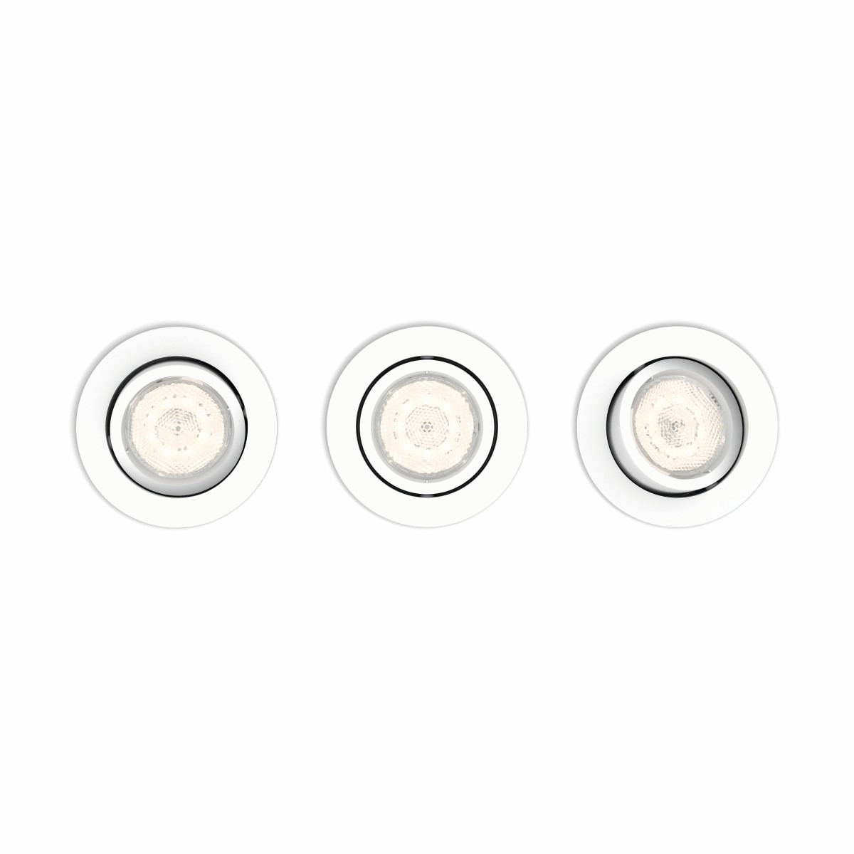 Philips Set Dimbare inbouwspots Casement (3x) Philips 5011331P0