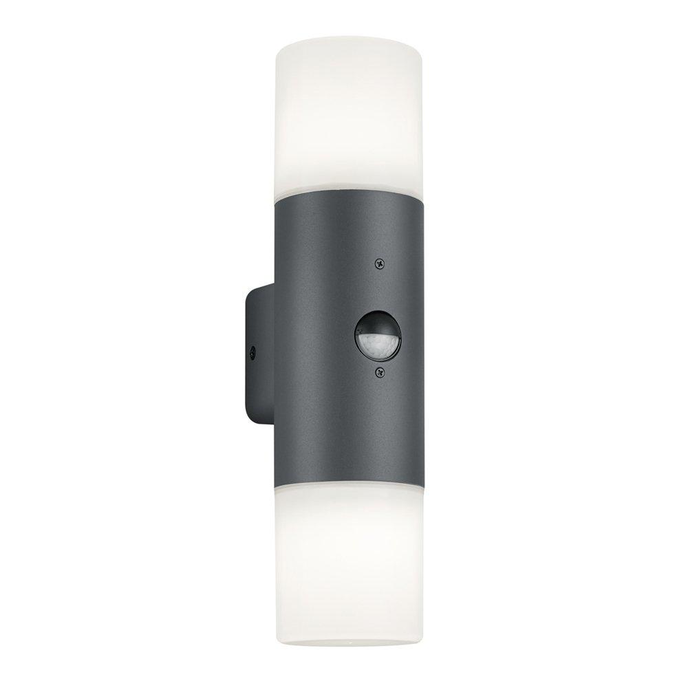 Trio international Design wandlamp Hoosic met bewegingsmelder Trio 222260242