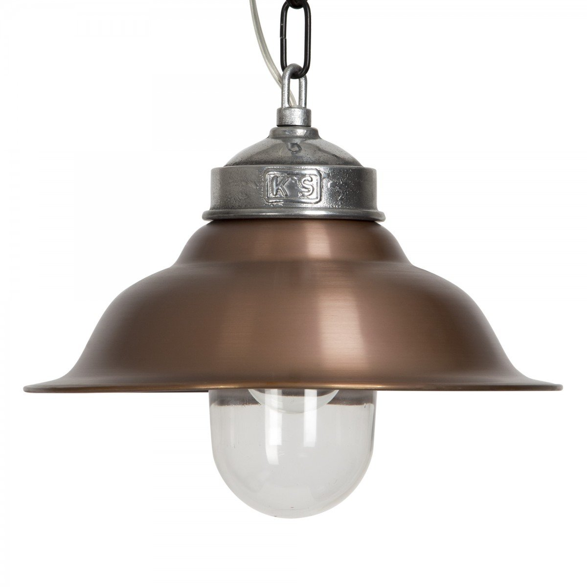 KS Verlichting Koperen hanglamp Porto Fino KS 6572