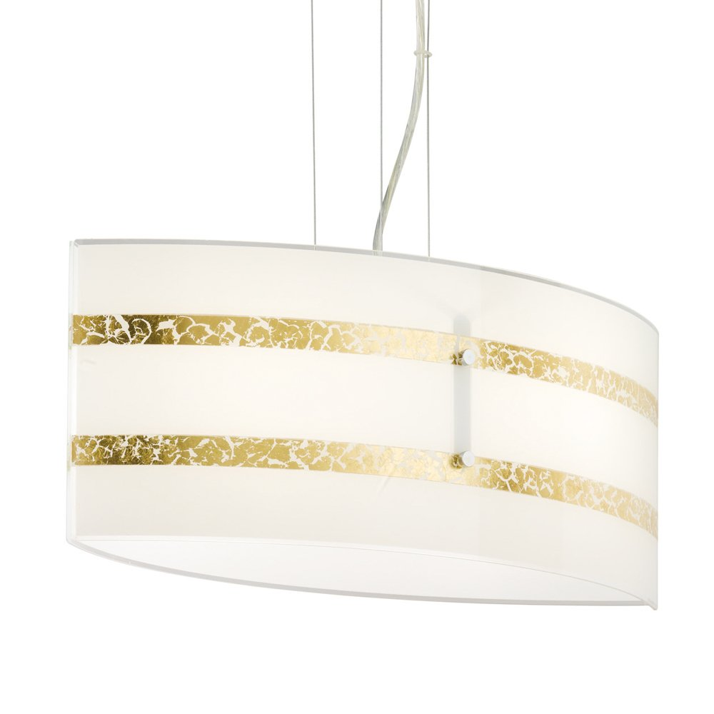 Trio international Hanglamp Nikosia 50 goud Trio 308700279