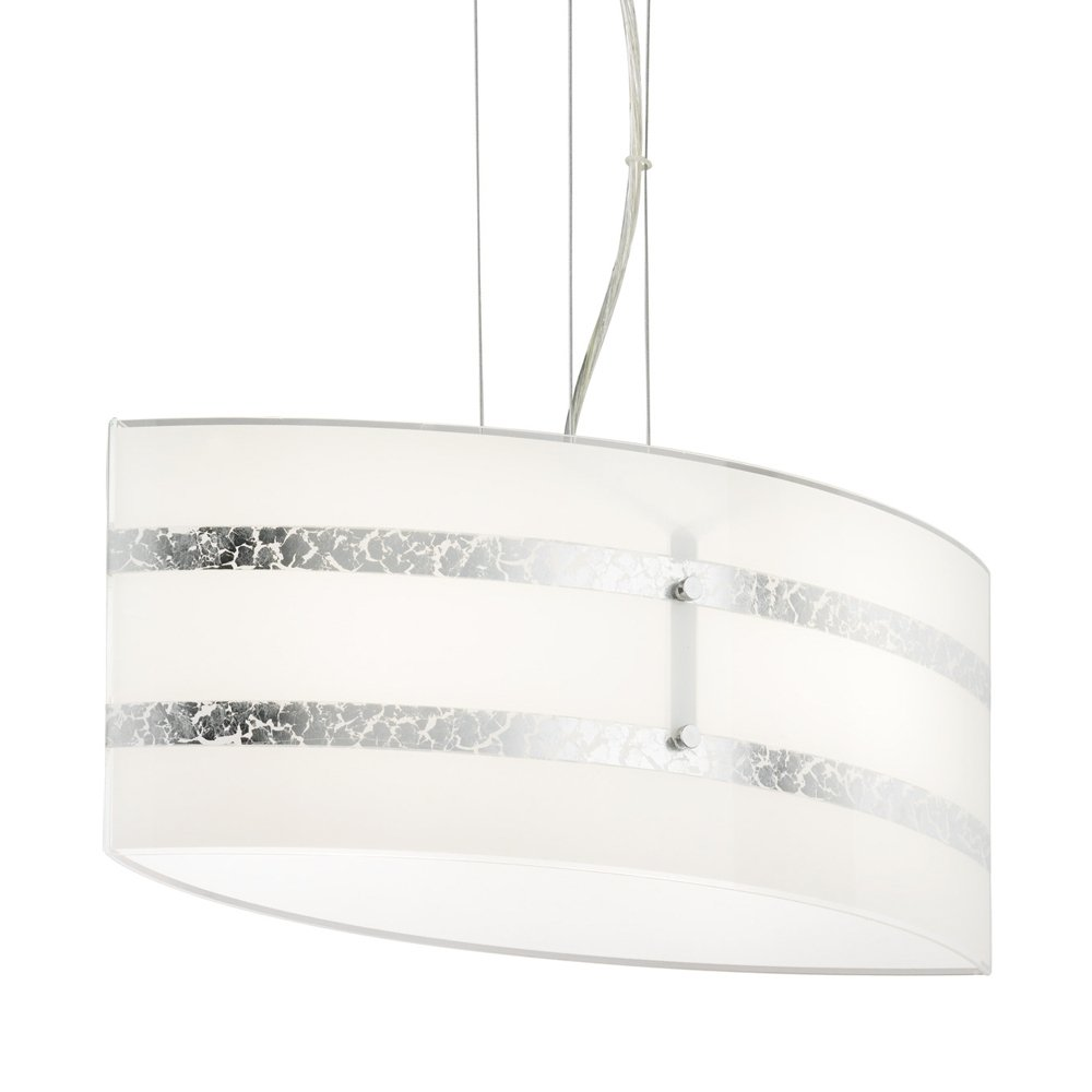Trio international Hanglamp Nikosia 50 chroom Trio 308700289
