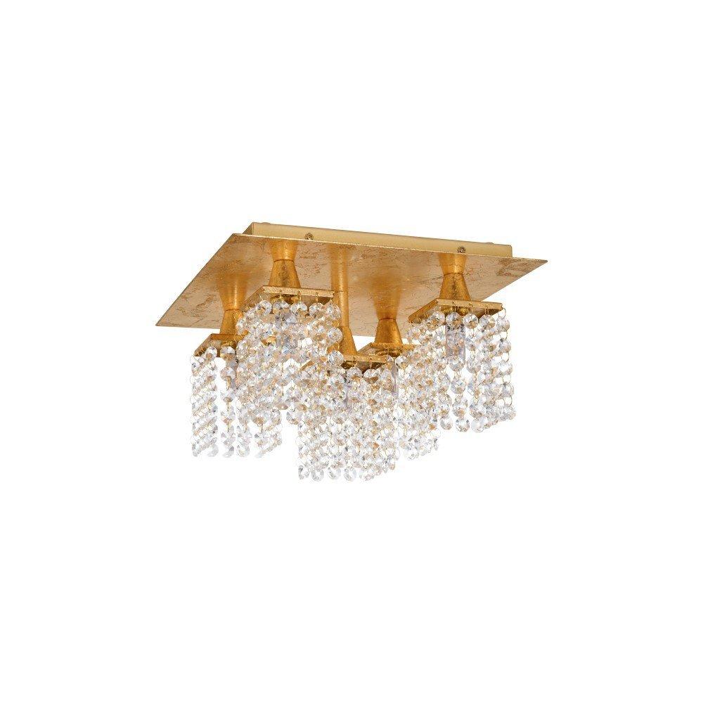 Eglo Design plafondlamp Pyton Gold Eglo 97721