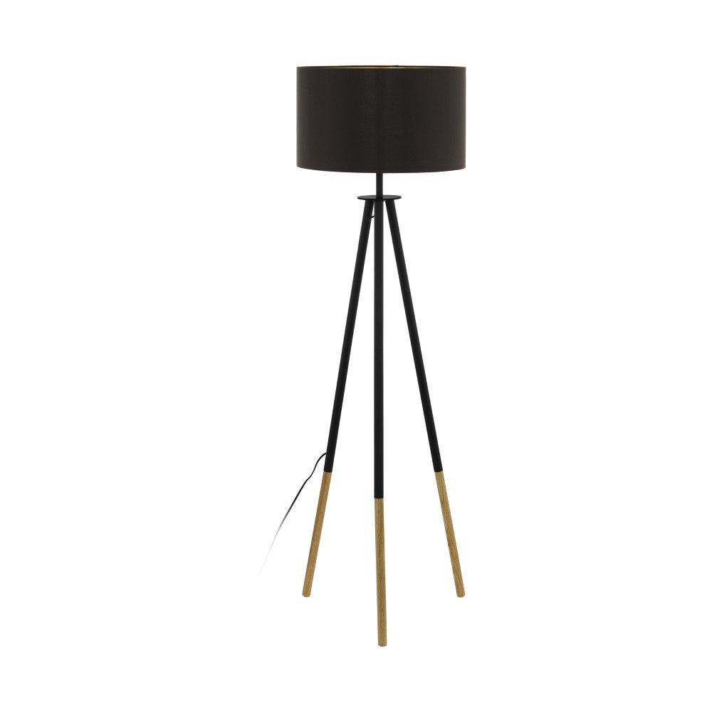 Eglo Bidford Vloerlamp 154 cm Donkerbruin