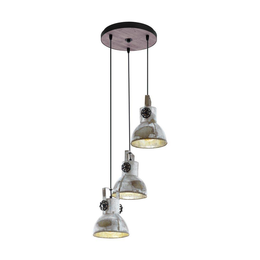 Eglo Vide hanglamp Barnstaple industrieel Eglo 49647