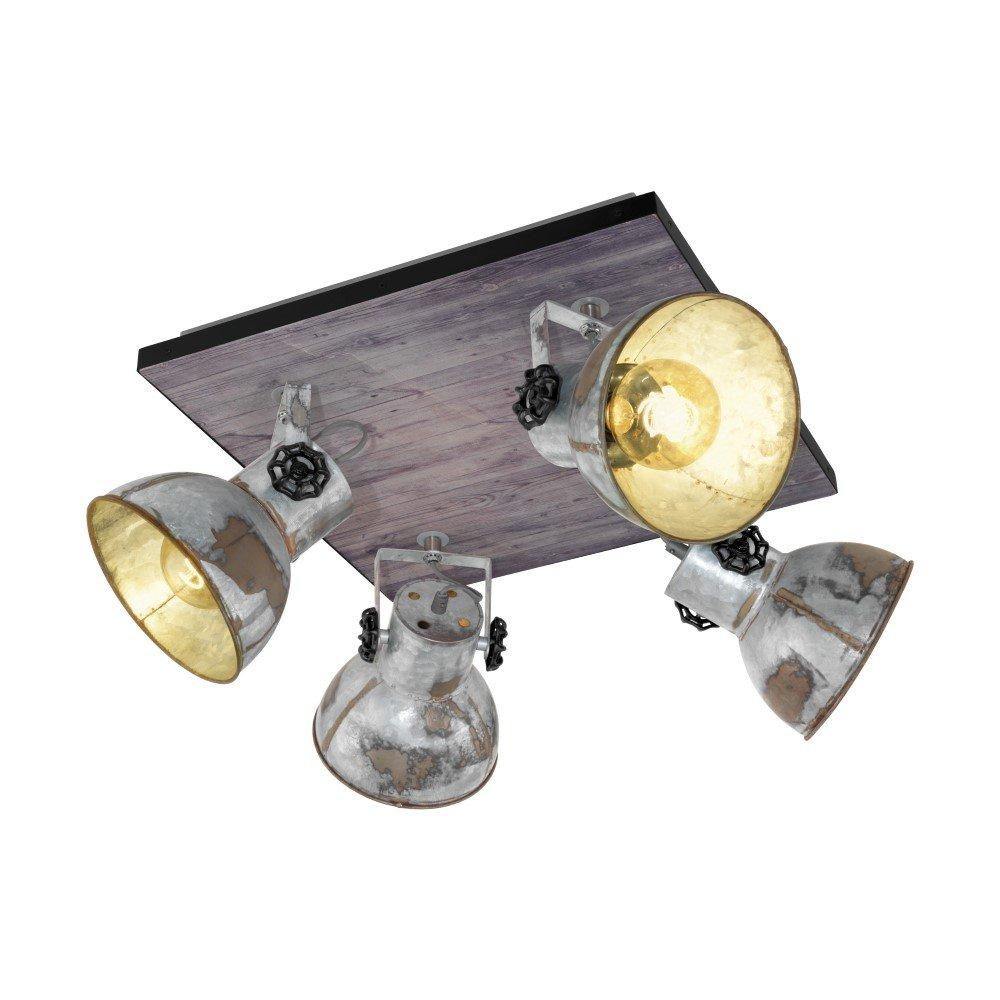 Eglo Opbouwspot Barnstaple 4-lichts Eglo 49653