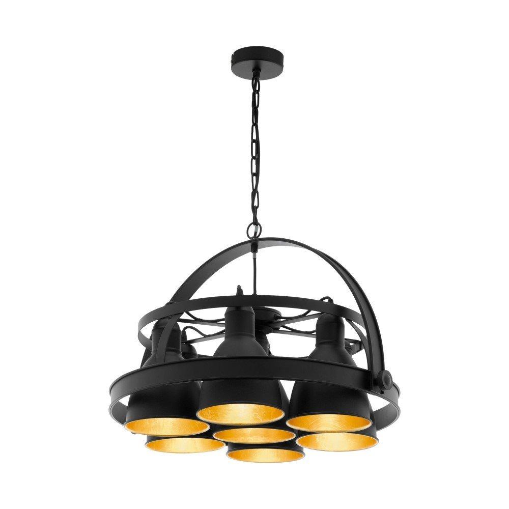 Eglo Landelijke hanglamp Backbarrow stoer Eglo 49682
