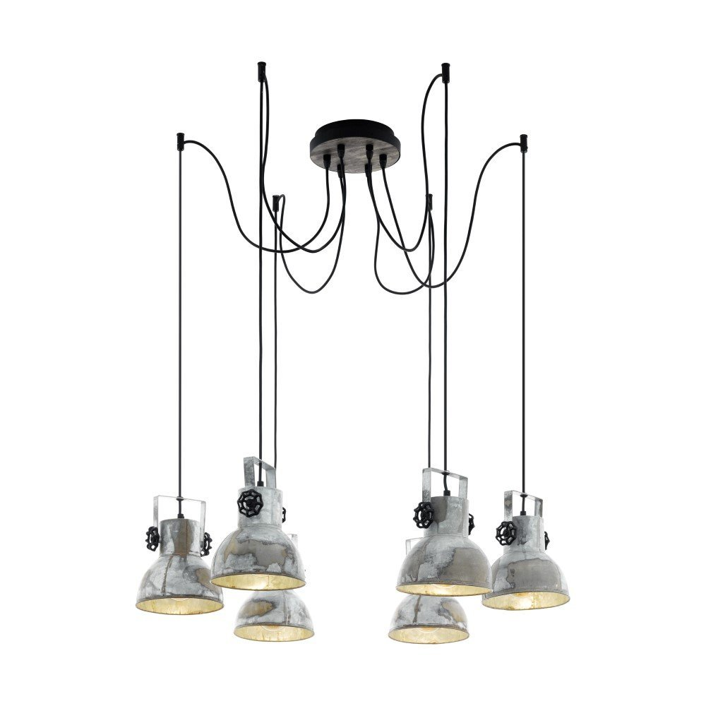 Eglo Spin Hanglamp Barnstaple fitter Eglo 49732