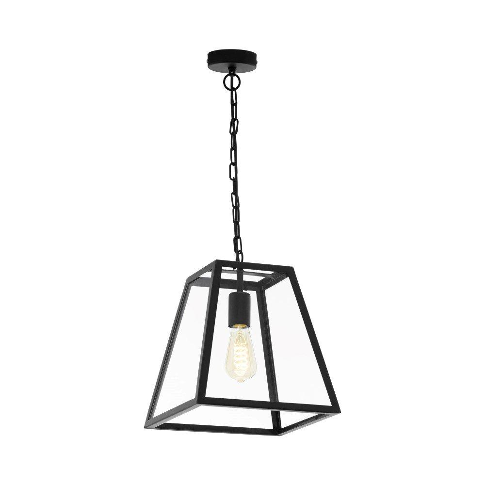 Eglo Zwarte hanglamp Amesbury 1 Eglo 49882