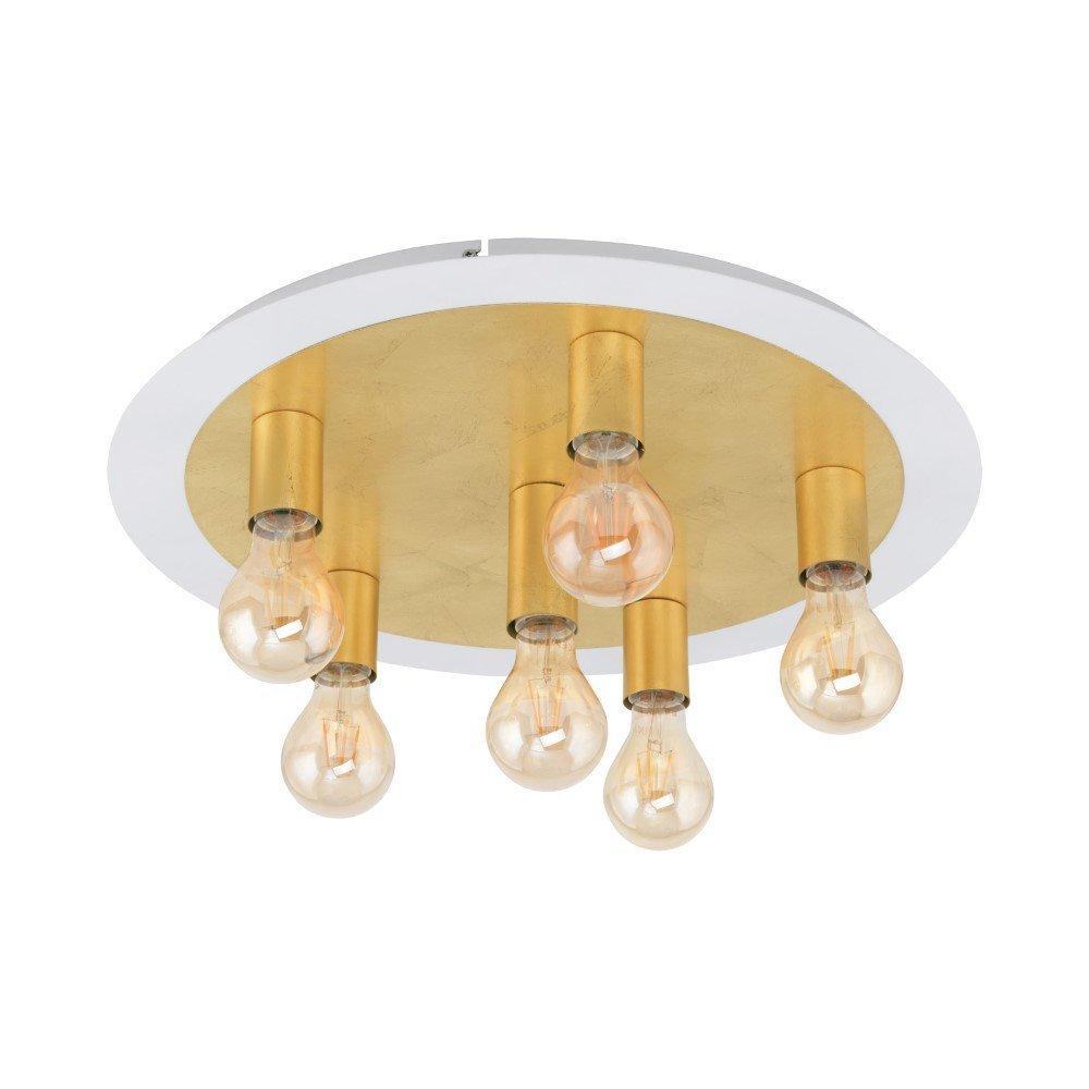 Eglo Gouden plafondlamp Passano Eglo 97493