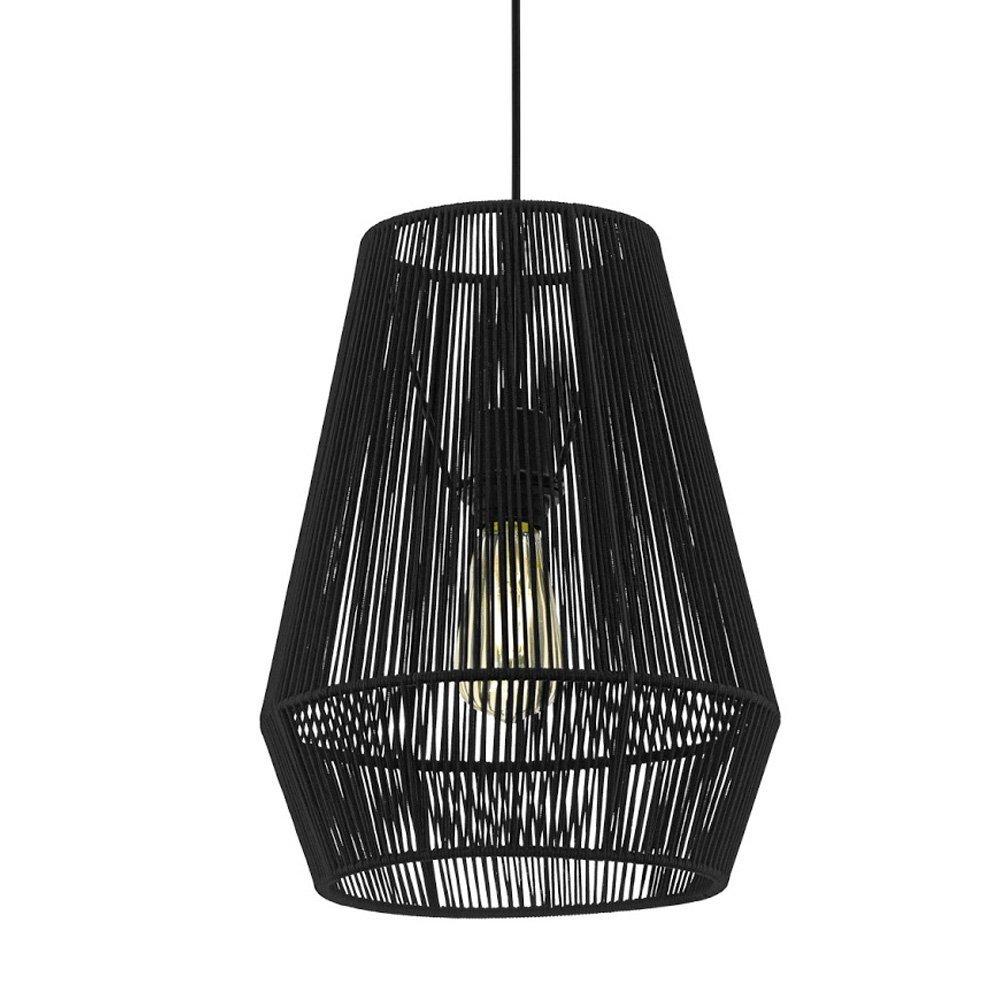 Eglo Zwarte hanglamp Palmones Eglo 97905