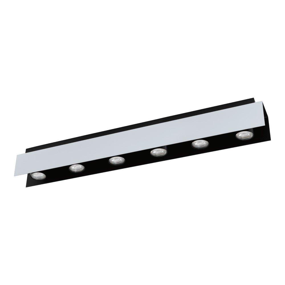 Eglo Led opbouwspots Viserba 6-lichts Eglo 97964