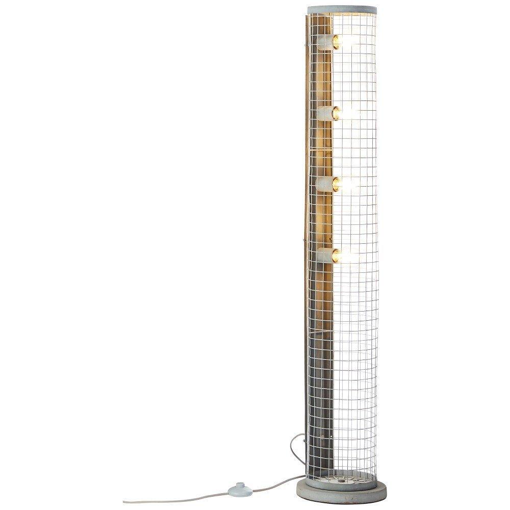 Brilliant Landelijke vloerlamp Net Brilliant 93422/70