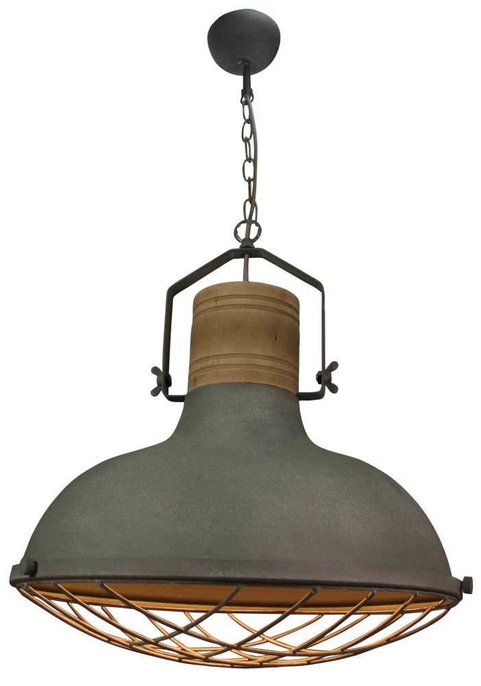 Brilliant Landelijke hanglamp EmmaØ 47cm Brilliant 93406/70