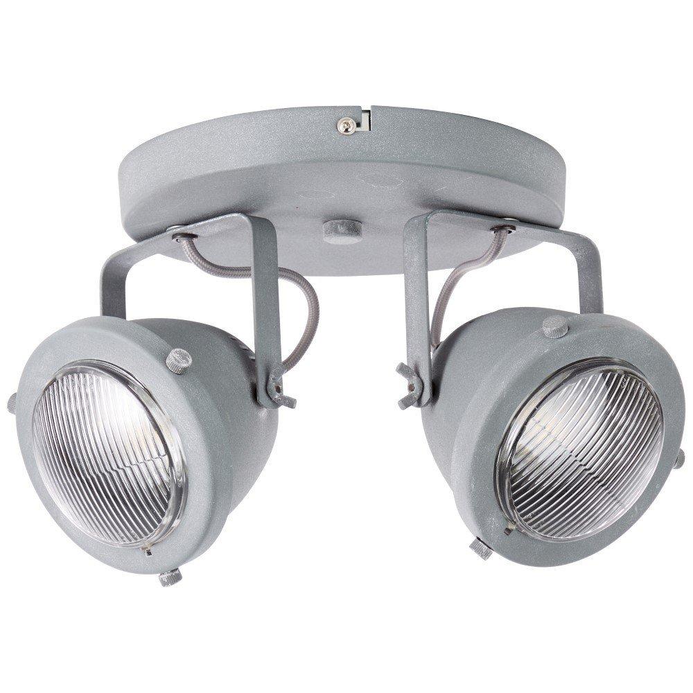 Brilliant Landelijke plafondspot Carmen 2-lichts Brilliant G55424/70