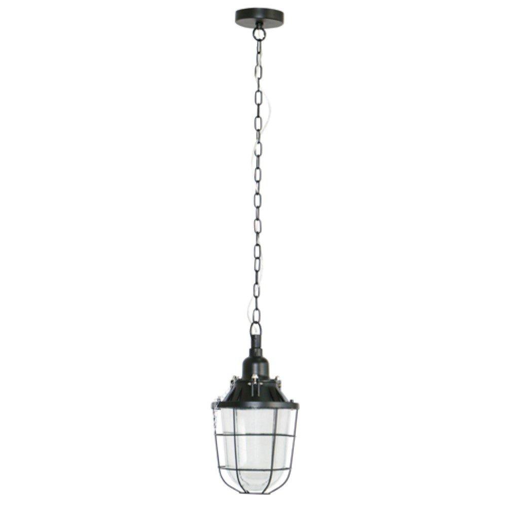 Brilliant Mat zwarte hanglamp Storm Brilliant 93652/06