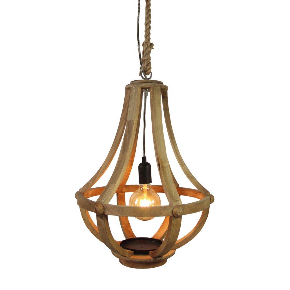 Brilliant Landelijke hanglamp MerwedeØ 41cm Brilliant 93410/45