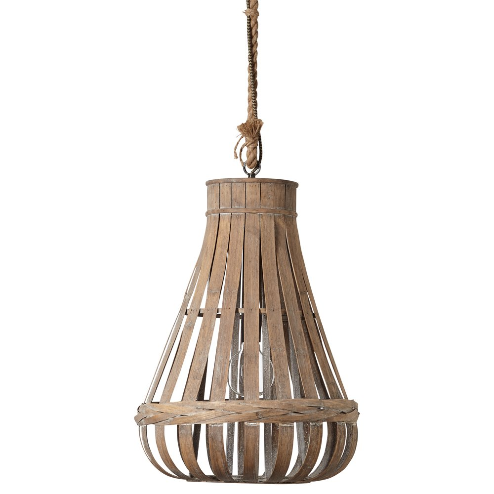 Brilliant Landelijke hanglamp KaminikaØ 44cm Brilliant 93579/09