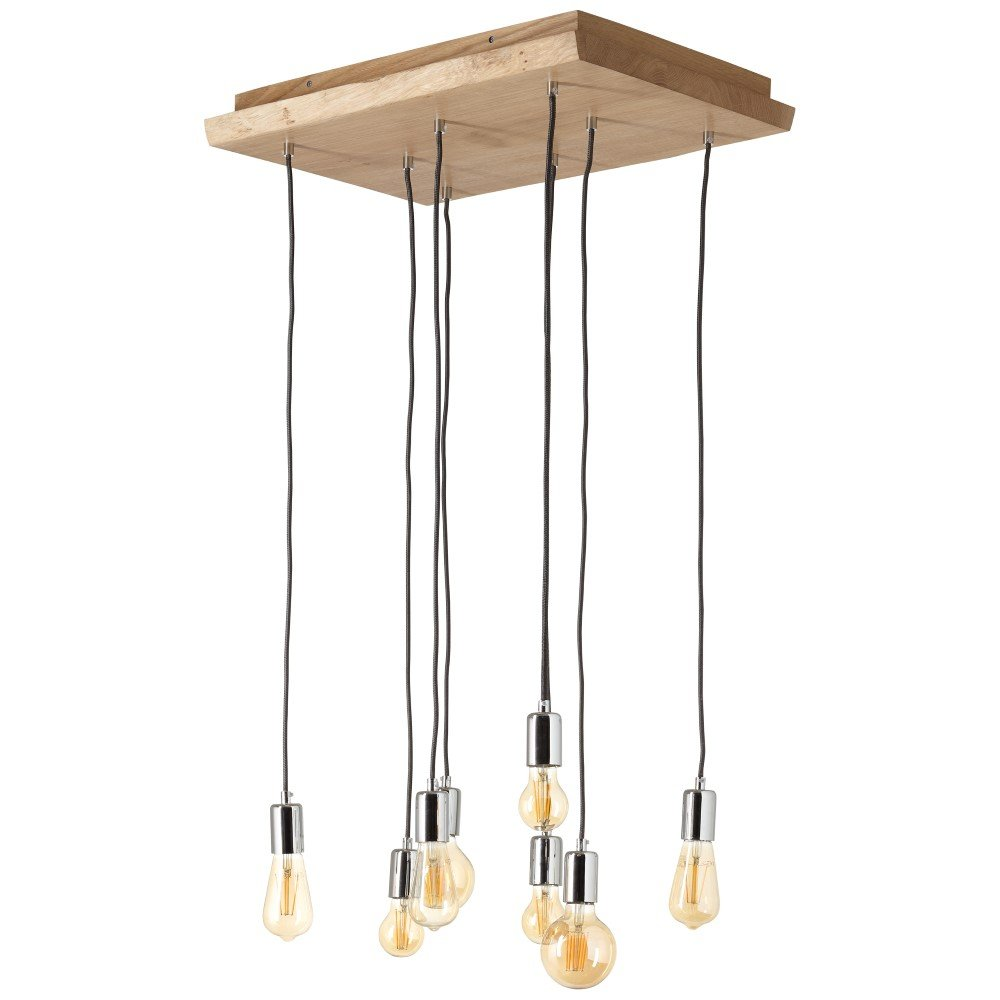 Brilliant Landelijke hanglamp Frihet Brilliant 93734/45