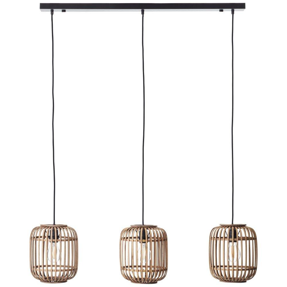 Brilliant Eetkamer hanglamp Woodrow Brilliant 93778/20