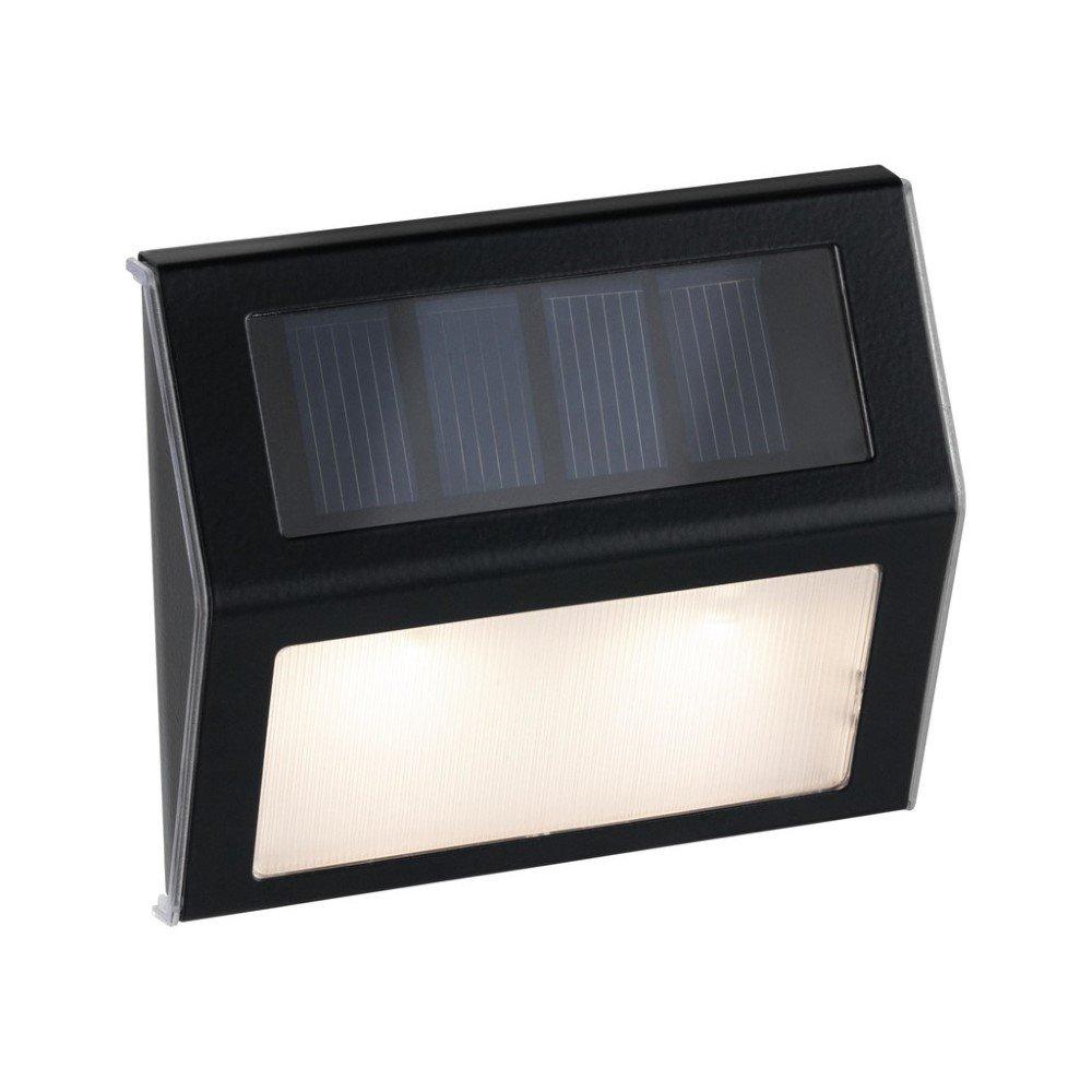 Paulmann Dayton 94234 Solar wandlamp 0.05 W Warm-wit Antraciet