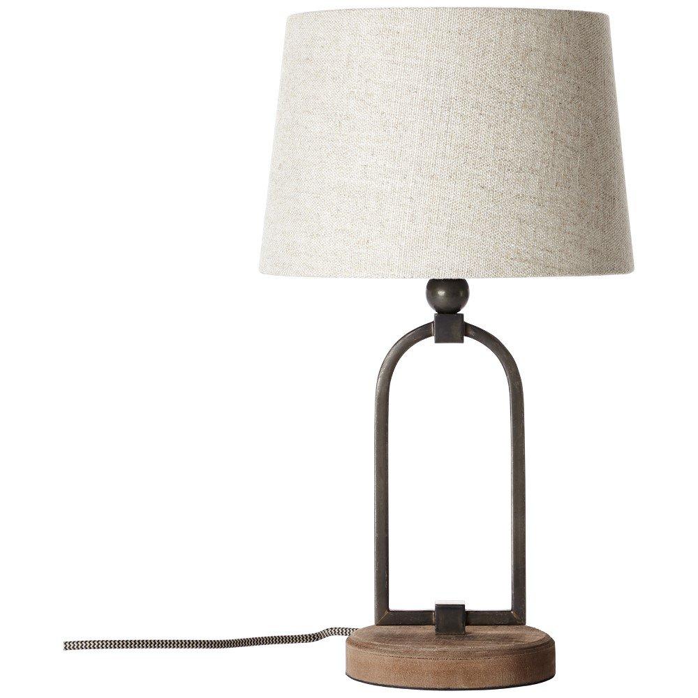 Tafellamp LED E27 40 W Energielabel: Afh. van lamp (A++ E) Brilliant Sora 99019-09 Beige