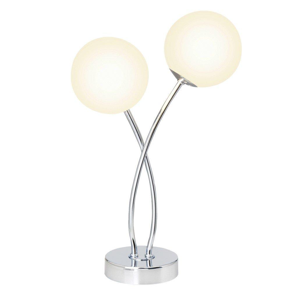 BRILLIANT Tafellamp met 2 fittingen
